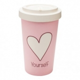 Woodway kelímek z bambusu Love Yourself 500 ml
