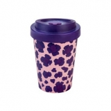 Woodway kelímek z bambusu Pia Purple 300 ml