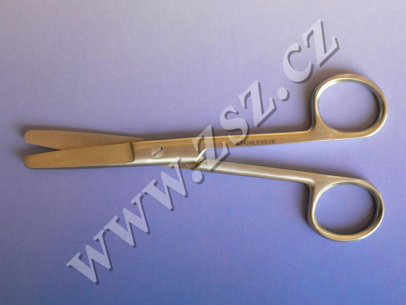 Nůžky chirurgické tupé rovné 15 cm