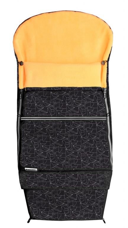 Fusak EMITEX COMBI EXTRA černý + oranžový