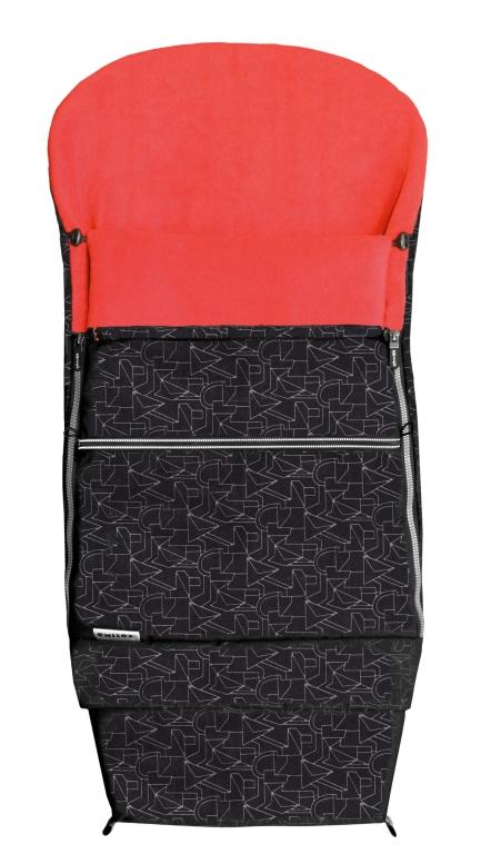 Fusak EMITEX COMBI EXTRA černý + červený