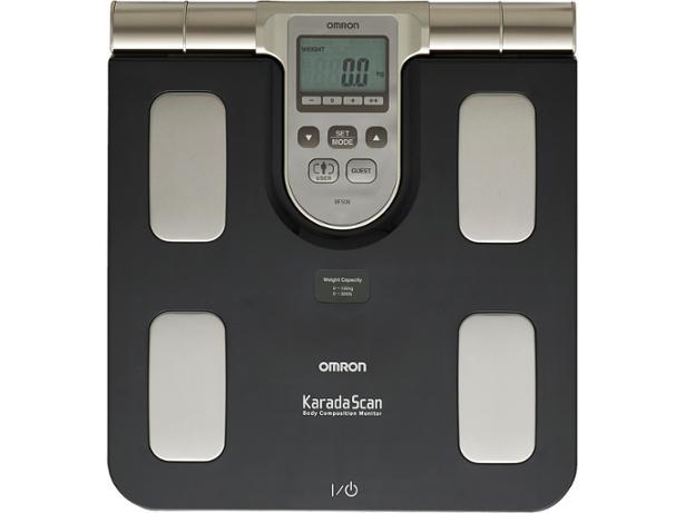 Monitor skladby lidského těla s lékařskou váhou OMRON BF 508