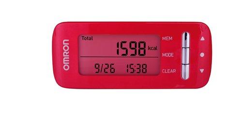 Monitor kalorické spotřeby Omron Caloriscan - růžový