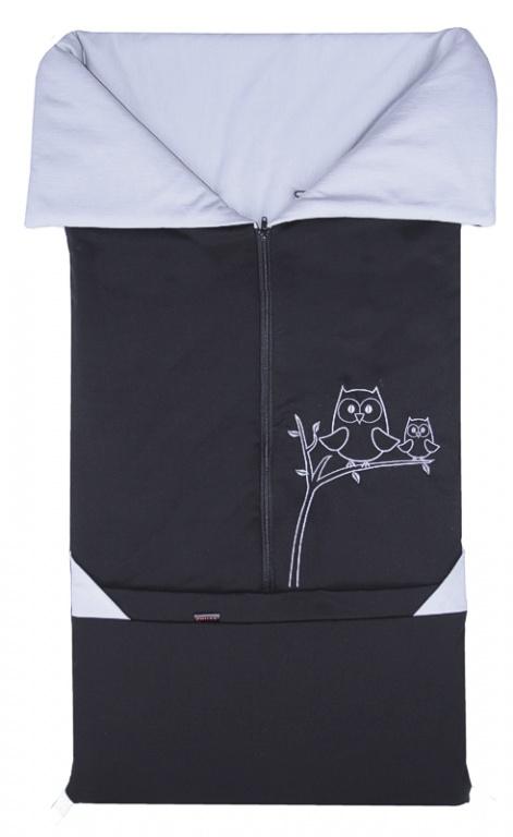 EMITEX Fusak 2v1 BARY černý + šedý