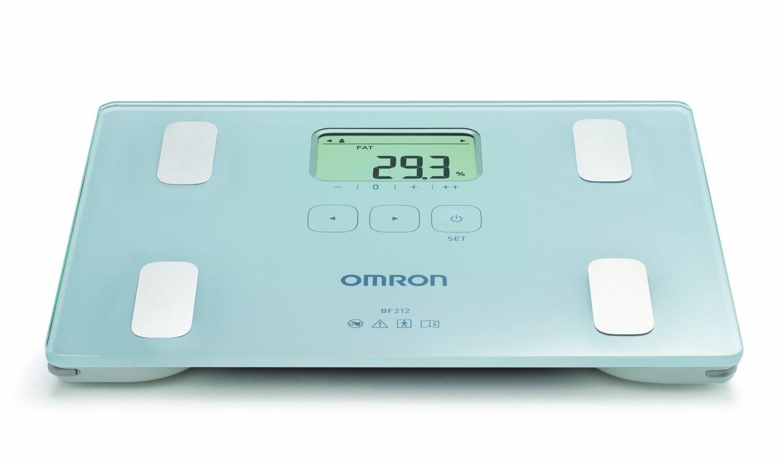 Tukoměr (měřič tělesného tuku) s lékařskou váhou OMRON BF 212