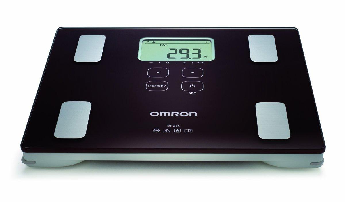 Tukoměr (měřič tělesného tuku) s lékařskou váhou OMRON BF 214