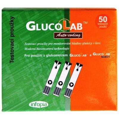 Testovací proužky pro glukometr GlucoLab 125ks + ZDARMA glukometr