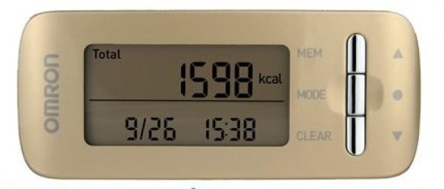 Monitor kalorické spotřeby Omron Caloriscan - zlatý