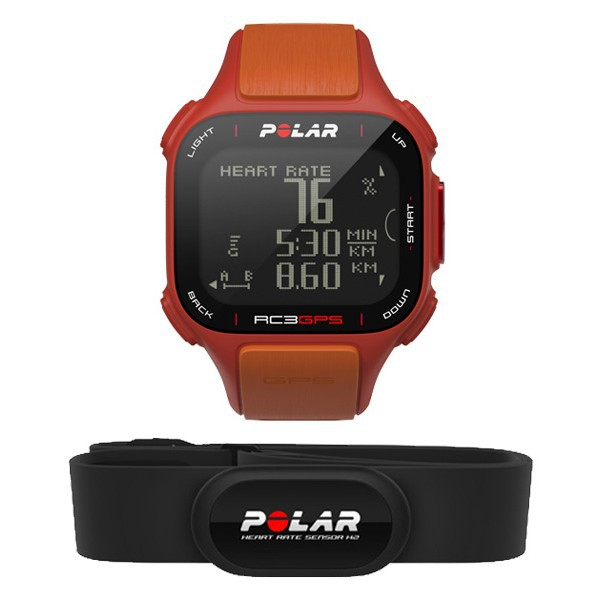 Polar RC3 GPS HR oranžová