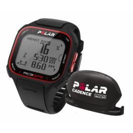Polar RC3 GPS HR bike černá