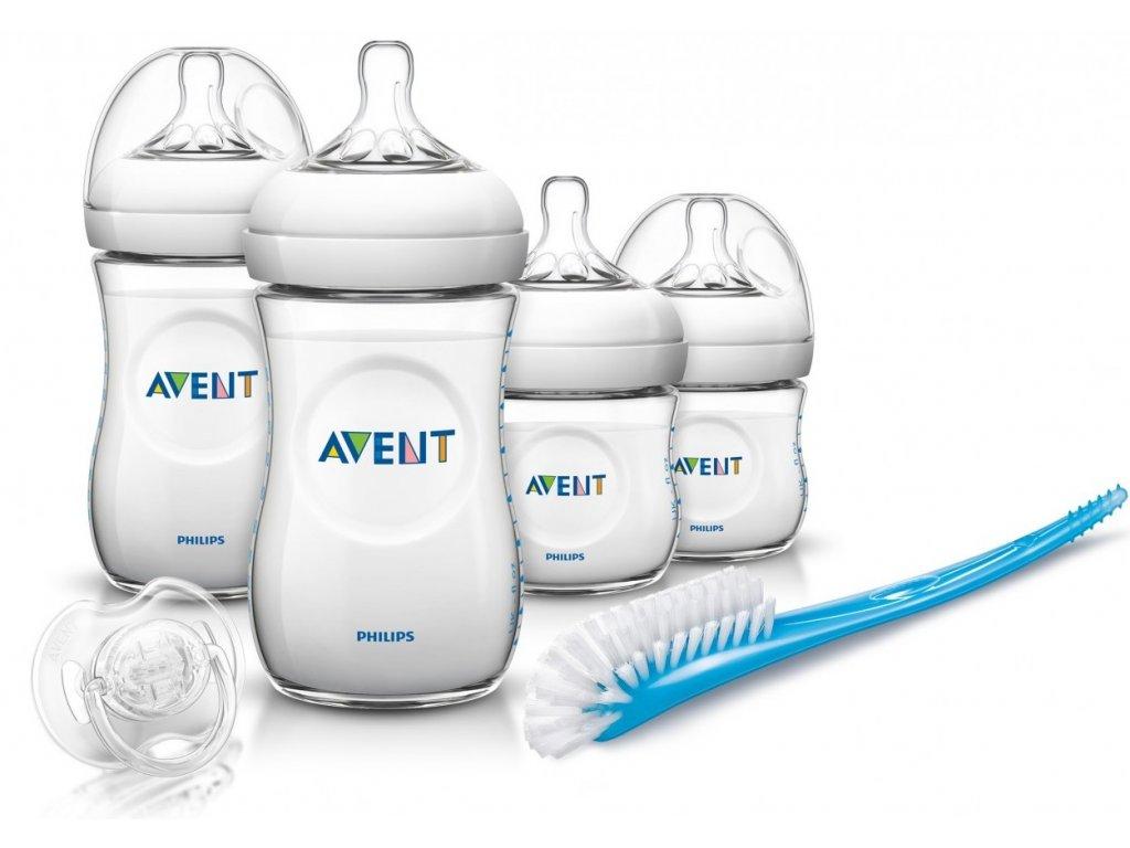 AVENT Novorozenecká startovní sada Natural bez BPA
