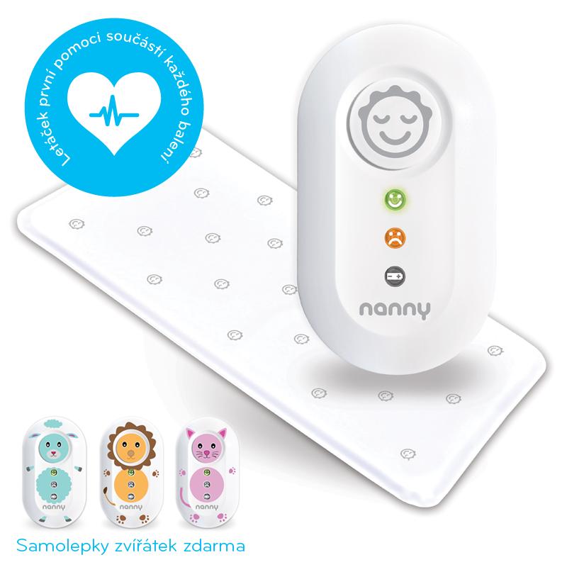 Baby Monitor BM02 NANNY s jednou podložkou