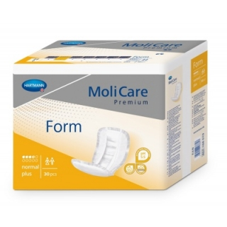 Vložné pleny MoliCare Premium FORM Normal Plus 30 ks