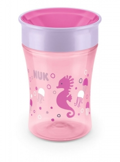 NUK Magic Cup 230 ml růžový