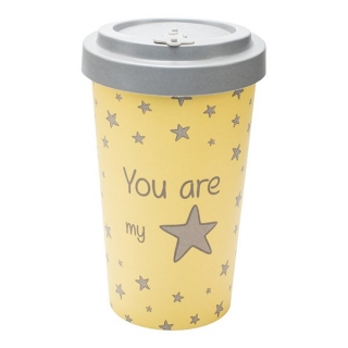 Woodway kelímek z bambusu You are my star 500 ml