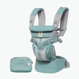 ERGOBABY NOSÍTKO OMNI 360 COOL AIR MESH - ICY MINT
