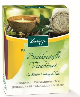 KNEIPP® Set solí do koupele 4x60g