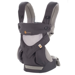 Ergobaby 360 Nosítko Cool Air Carbon Grey
